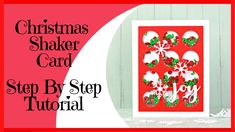 In this Video we will make a Christmas Shaker Card Tutorial made from products supplied in a Uniquely Creative Kit. Uniquely Creative is an Australian Scrapb. Card Making Kits, Card Making Tutorials, Card Making Techniques, Why Christmas, Shaker Cards, Diy Cards, Paper Crafts, Youtube, Tissue Paper Crafts