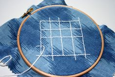 #30DOC Day 8: Unfinished embroidery - stay tuned!
