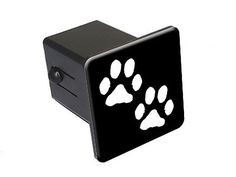 Paw Prints - Tow Trailer Hitch Cover Plug Insert Truck Pickup RV