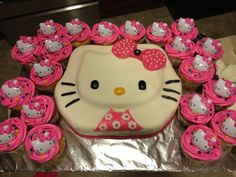 Super 23 Best Cakes I Like For Nevaeh Images Hello Kitty Cake Hello Birthday Cards Printable Inklcafe Filternl