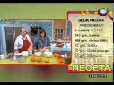 Selva negra - Recetas – Cocineros Argentinos Fondant, Youtube, Cupcakes, Baseball Cards, Tarts, Desserts, Recipes, Phyllo Dough, Chefs