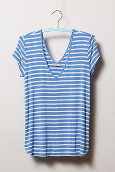 Elementary V-Neck - anthropologie.com
