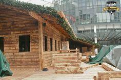 Wir gehen in den Aufbau Endspurt  #Alpenzauber #Köln #MediaPark