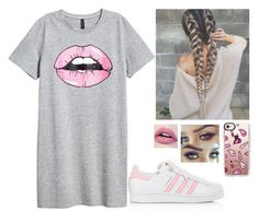 """""""Untitled #34"""" by simplyemilieb ❤ liked on Polyvore featuring adidas and Casetify"""