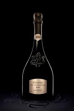 """Tête de cuvée """"Femme"""" de la maison Duval Leroy, seule et unique grande maison de champagne dirigée par une femme, Madame Carole Duval Leroy. #Champagne #HDPST #Oenologie"""