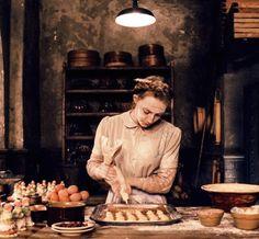 Saoirse Ronan's Agatha works hard at Mendel's in Zubrowka ~ learn more at http://www.akademiezubrowka.com/