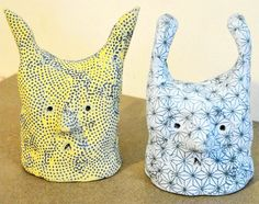 custom ceramic sculpture 'small critter' pottery art by Kate Stevens via Etsy.
