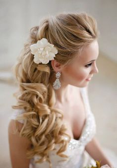 Stunning Wedding Hairstyles | Mine Forever