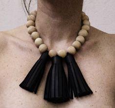 mona velciov monotip/leather/wood/jewelry/
