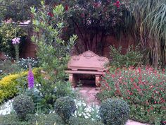 """See 1 tip from visitors to Designer Gardens Landscaping. """"Use Designer Gardens Landscaping to landscape your garden, build you a koi pond, swimming. Garden Seating, Garden Chairs, Flower Places, Garden Park, Beautiful Gardens, Garden Landscaping, Pond, Swimming Pools, Gazebo"""