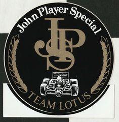JOHN PLAYER SPECIAL JPS F1 TEAM LOTUS 98T 1986 SENNA ORIGINAL STICKER AUFKLEBER Lotus Logo, Lotus F1, Racing Stickers, Lotus Esprit, Ford Roadster, Decals, Logos, Ebay, Vintage Ads