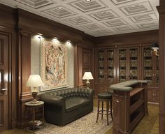 Image detail for -Library home interior design furniture designs decoration