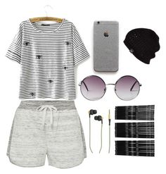 Untitled #29 by hannah-s-b on Polyvore featuring polyvore, fashion, style, Calvin Klein, Kreafunk, UGG Australia, Monki and clothing