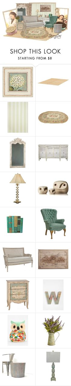 """""""Skinny Cow's Build Your Own WoCavé™ Contest"""" by alyssastar ❤ liked on Polyvore featuring interior, interiors, interior design, home, home decor, interior decorating, WALL, Shabby Chic, Borghese and Wildwood"""