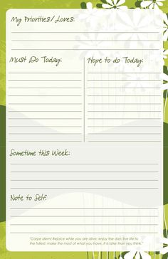 In Honor Of Design: Thursday DIY: Free Printable To-Do List