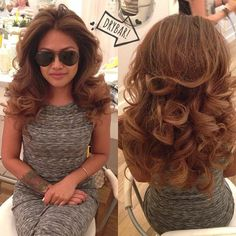 Blowout Hairstyle Inspiration Drybar #drybardos #straightup #blowout #prettyhair  Hair