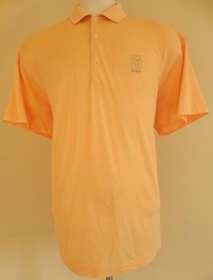 FAIRWAY Greene 2XL Polo SHIRT Yellow PUREFORMANCE Golf COTTON Blend COOLMAX Mens #FairwayGreene #PoloRugby