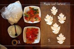 Sweet Something Designs: Maple Leaf Garland