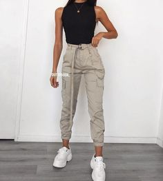 Teen Fashion Outfits, Edgy Outfits, Classic Outfits, Outfits For Teens, Cute Comfy Outfits, Cool Outfits, Summer Outfits, Mode Adidas, Pantalon Cargo