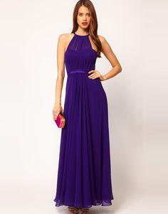 Back Details:None; Women's Evening Dresses, Summer Dresses, Formal Dresses, None, Chiffon, Purple Maxi, Lavender Dresses, Halter Maxi Dresses, Prom Dresses