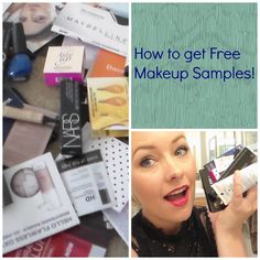 How to get free Makeup  Samples