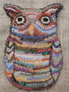 My Owl Barn: Hooked Owl and Other Animals
