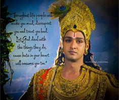 Krishna Quotes In Hindi, Radha Krishna Love Quotes, Cute Krishna, Radha Krishna Pictures, Lord Krishna Images, Radha Krishna Photo, Krishna Leela, Cheer Quotes, Karma Quotes