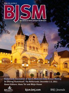 BJSM Volume 45 Issue 13 | October 2011 ~ Netherlands Association of Sports Medicine (VSG) Annual Meeting.