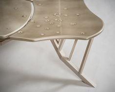 Mathilde MILOJEVITCH - Table basse « At home : table basse moléculaire » - Lycée du Pays d'Aunis - ©Augustin Detienne