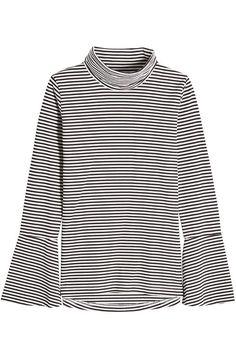 Seafarer Striped Cotton Turtleneck Top In Stripes Pop Fashion, Fashion Design, Seafarer, Longsleeve, Turtleneck Top, Turtle Neck, Style Inspiration, Stylebop, Cotton
