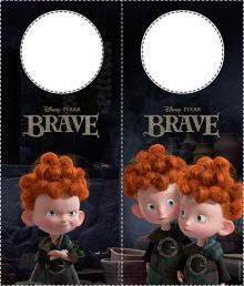 Door Hangers | Disney's Brave Free Printables, Activities and Coloring Pages | SKGaleana