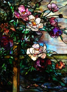 dream home design Stained Glass Designs, Stained Glass Projects, Stained Glass Patterns, Stained Glass Art, Stained Glass Windows, Stained Glass Flowers, Mosaic Art, Mosaic Glass, Fused Glass