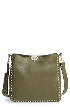 Valentino+'Rockstud'+Hobo+available+at+#Nordstrom
