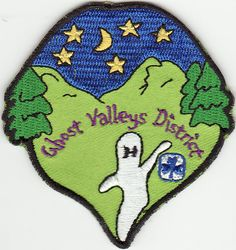 Ghost Valleys District Patch #1, Kootenay Area, Girl Guides of Canada, GGC