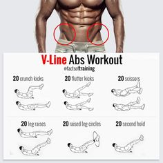 Amazing V-Line Ab workout. Get that sexy beach body ready