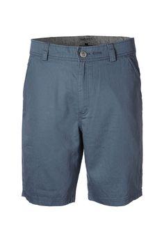 City Shorts -  #hoodlamb #hemp #organic #organiccotton #ecofashion #herringbone #shorts #blue #summer #SS15