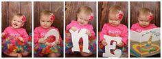 Happy Birthday To Me First Birthday Girls by HandpickedHandmade, $25.50