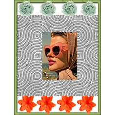An art collage from March 2012 Collage Art, Folk Art, Sunglasses Case, Digital, Create, Spring, Polyvore, Collage