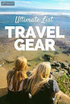 Our Ultimate List of Travel Gear to help you Pack Smart | We've been testing out a bunch of different travel gear > here's a list of our favourite gear to help you pack smarter | The Planet D: Canada's Adventure Travel Couple