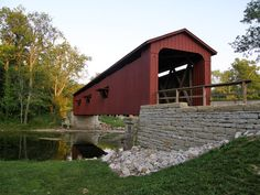 Covered Bridges in Owen County. Indiana  -  Travel Photos by Galen R Frysinger, Sheboygan, Wisconsin
