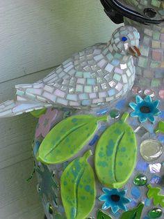 Detail of GardenWoman by The Dove Studio,  Katherine Jurys Krug
