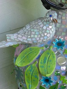 Detail of GardenWoman by The Dove Studio,