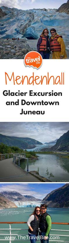 Mendenhall Glacier Excursion und Downtown Juneau The Travel Bite Alaska Juneau, Alaska Travel, Canada Travel, Travel Usa, Alaska Trip, Canada Trip, Travel Tips, Travel Logo, Travel Hacks