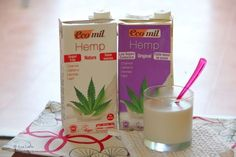 Glass Of Milk, The Originals, Drinks, Food, Hemp Milk, Cannabis Plant, Vitamin E, Vegetable Recipes, Innovative Products