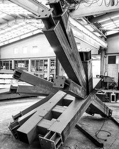 En acero sí se puede diseñar cualquier estructura! #steel #steelers #aisc #structure