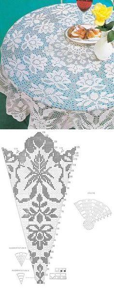 Figured filet lace...<3 Deniz <3