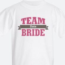 team bride Kids' T-shirts