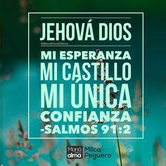 Cuando todo parece perdido que ya no tienes escapatoria el que NUNCA se apartará de ti es tu Padre. Ya clamaste a Él? #ManáParaelAlma #Jehová #Dios #MiCastillo #MiConfianza #MiEsperanza #PadreDios #Fe