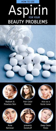 We generally know aspirin as a medicine, used to treat your headache, fever or body ache. But do you know that aspirin is also used as a good remedy for treating many skin problems? Surprising, isn…