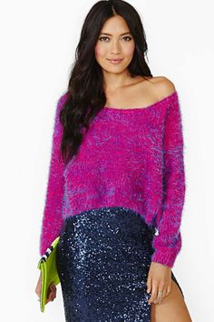 Nasty Gal Make A Fuss Sweater